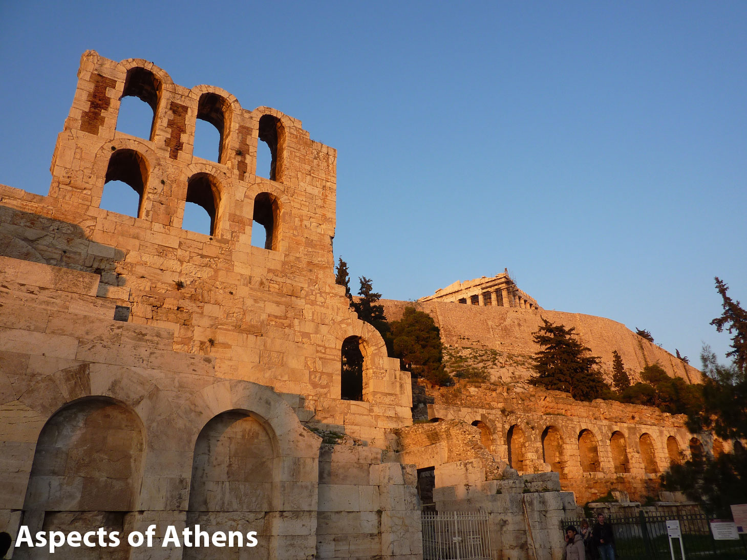 Herod Atticus Odeon and the Acropolis