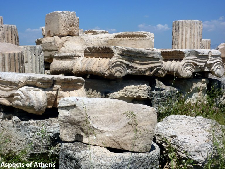 Acropolis of Athens: Marbles and Columns