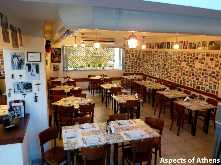Il Postino restaurant Kolonaki