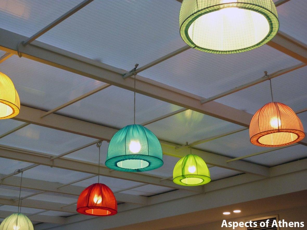 Waffle House vouliagmeni lamps