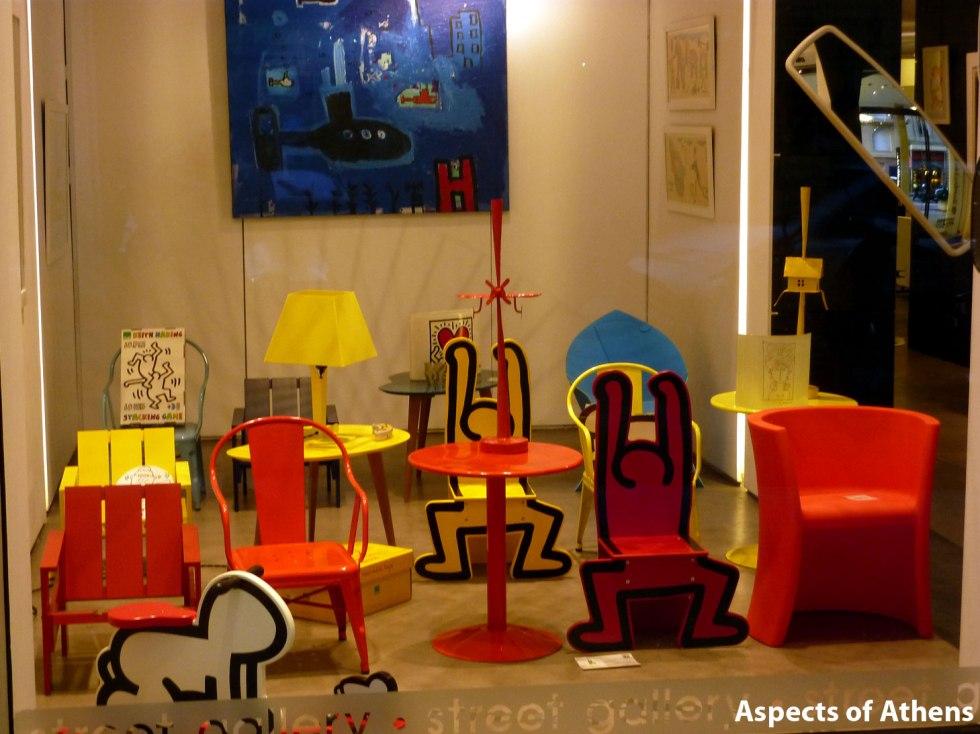 Keith Haring @ Gallery Zoumboulaki