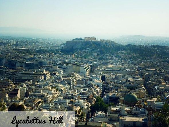 View from Lycabettus Hill