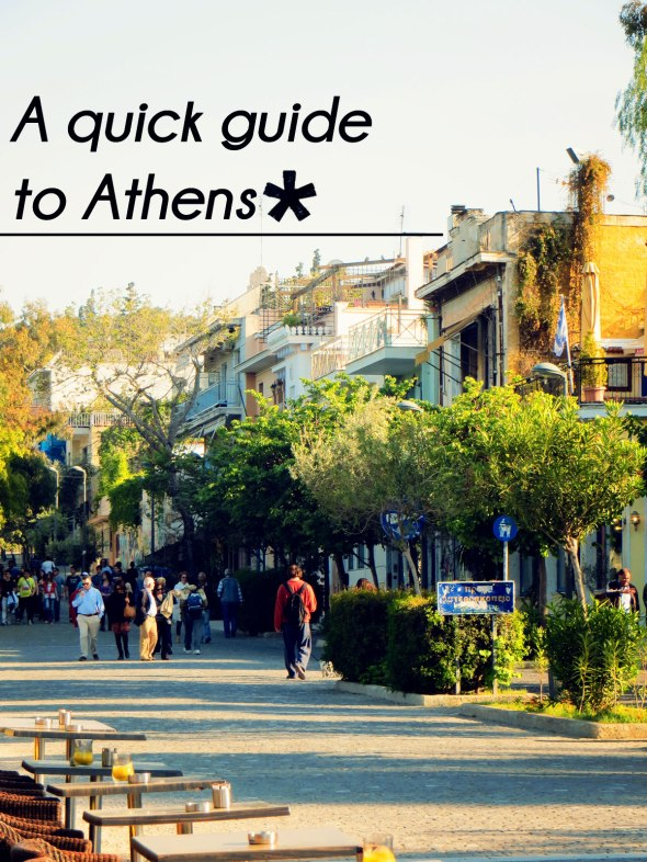 quick guide to Athens