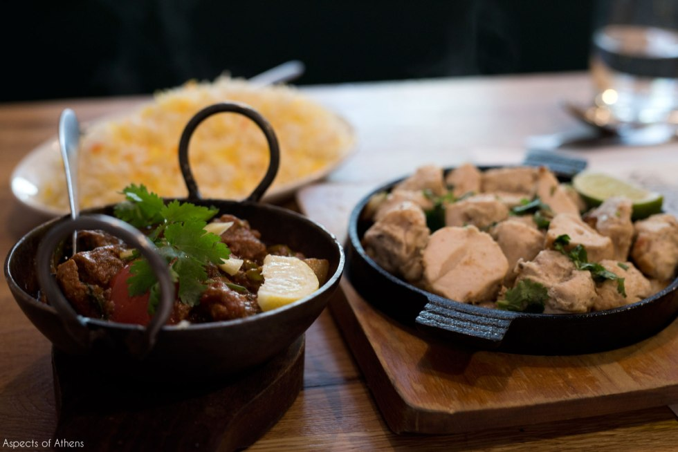 Lamb Karahi and Chicken Tikka at Indian Kitchen